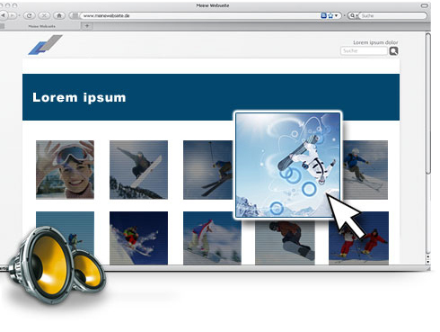MAGIX Website Maker Screenshot