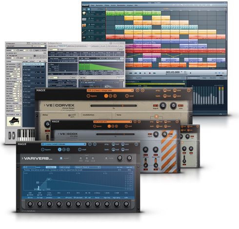 MAGIX Music Maker Production Suite Screenshot