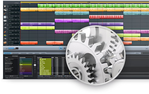 MAGIX Music Maker Screenshot