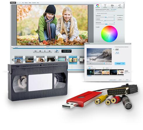 magix sos vhs videocassette 6 recensione pc mac. Black Bedroom Furniture Sets. Home Design Ideas