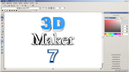 das einfachste 3d programm magix 3d maker 7. Black Bedroom Furniture Sets. Home Design Ideas