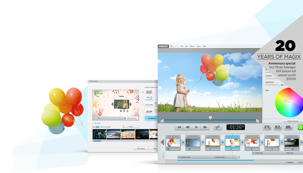 MAGIX Video easy HD Screenshot