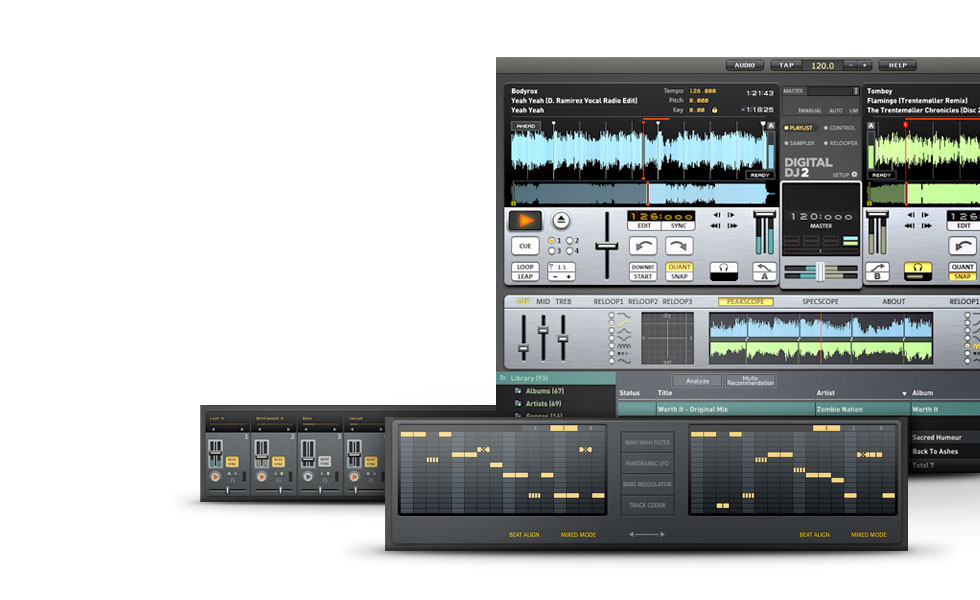 MAGIX Digital DJ Screenshot