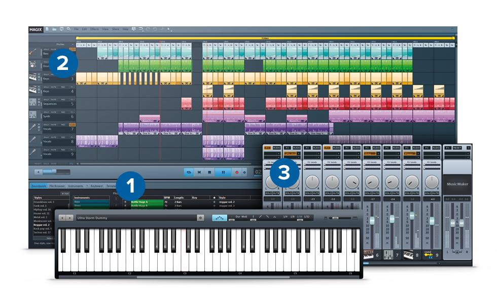 Magix Music Maker 2014 – 音乐制作软件丨反斗限免