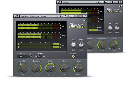 MAGIX Samplitude Music Studio Screenshot